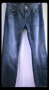 PAUL SMITH Pink Womens Jeans Straight Leg 28